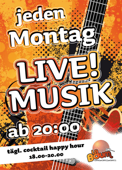 montag live musik